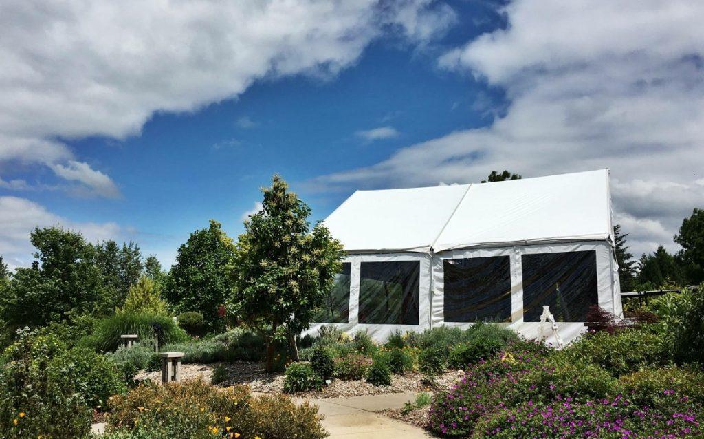 Oregon Gardens Tent