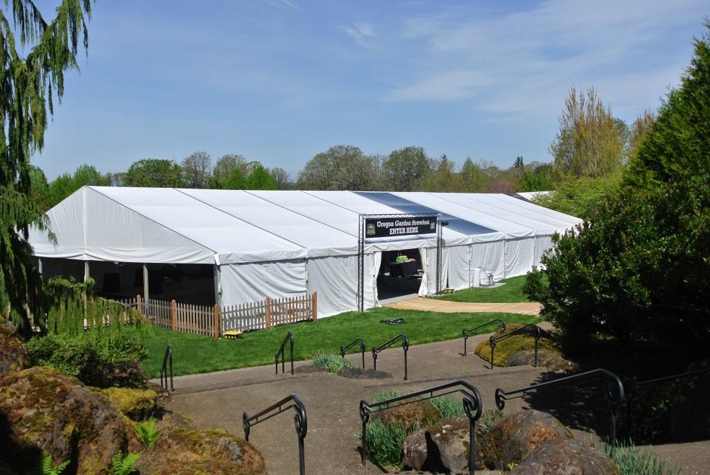 Oregon Gardens Brewfest Tent