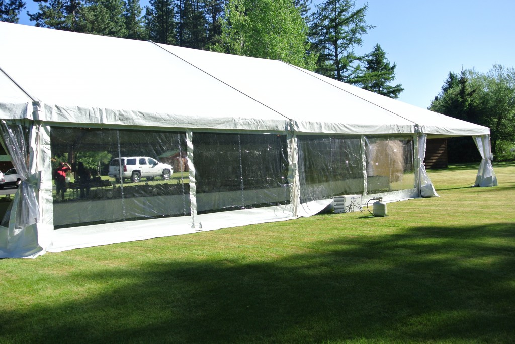Event Tent - White with Windows