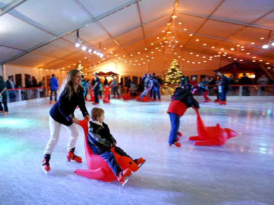 Statesman - Ice Skating Tent