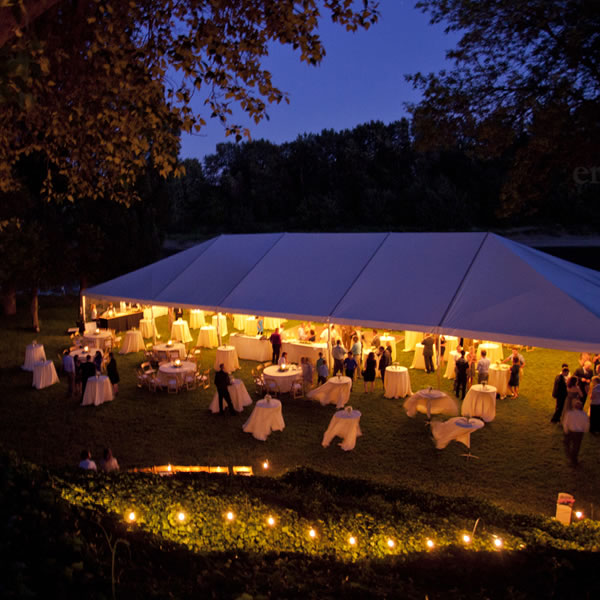Evening Reception Tent