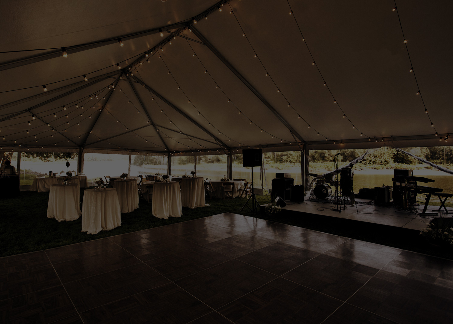 Elegant Tent with Dance Floor